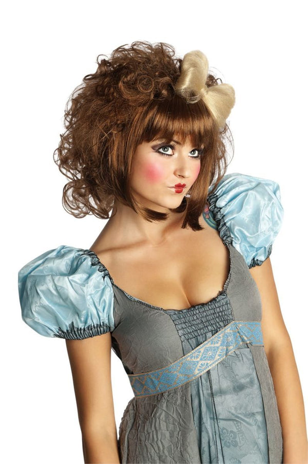 CUTIE DOLL WIG- BROWN