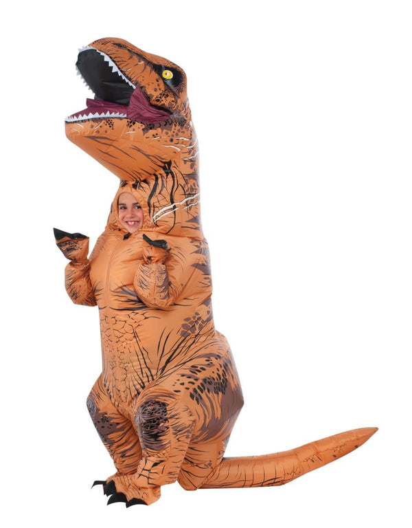 CHILD INFLATABLE T-REX -
