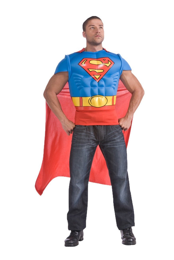 SUPERMAN ADULT MC SHIRT