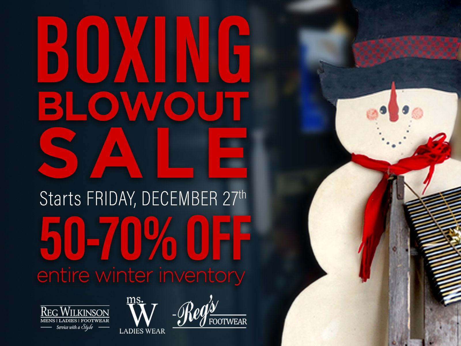 Boxing Week Sale 2019