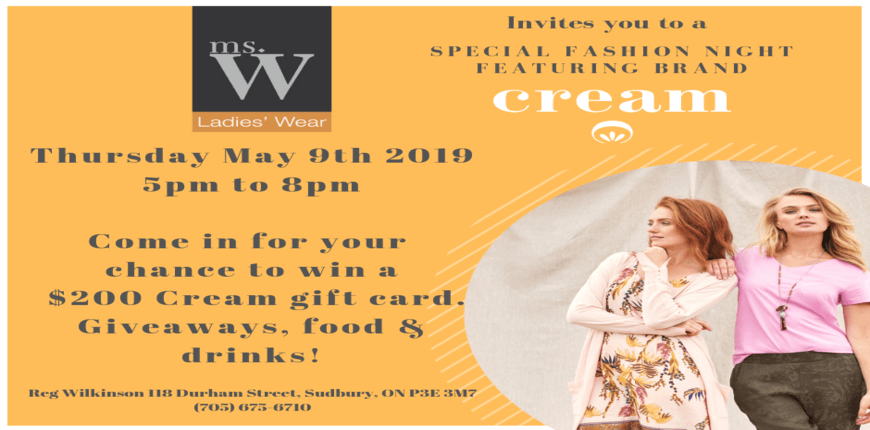 Ms.W Spring Ladieswear Event