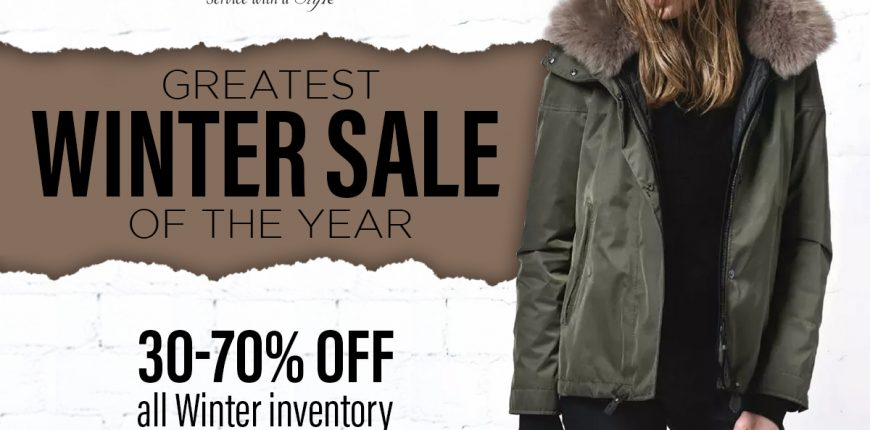 Our Greatest Winter Sale On Now