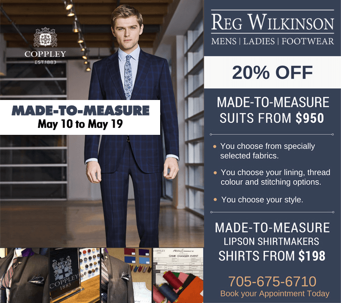 Spring Made-To-Measure Event