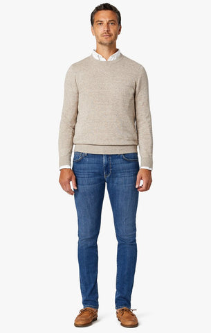 34 Heritage - Cool Slim Leg Jeans in Mid Shaded Ultra