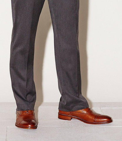 JOHNSTON & MURPHY TAN CONARD CAP TOE