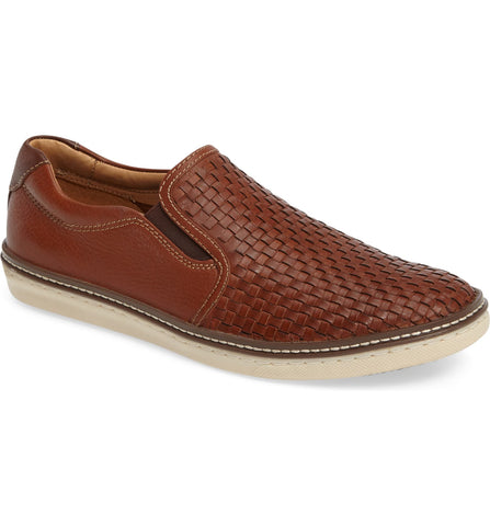 Johnston & Murphy  - MCGUFFEY Woven Slip-On