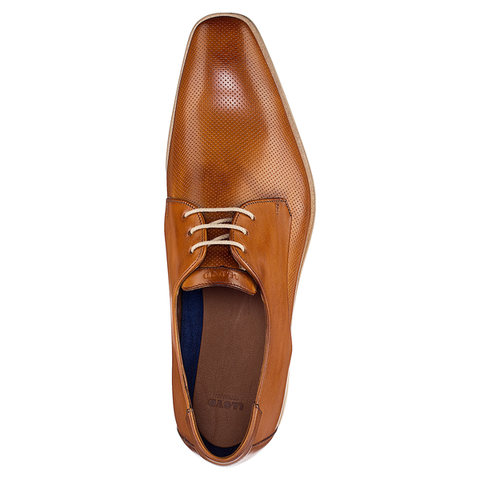 LLOYD / FELTON - Derby Shoes Cognac