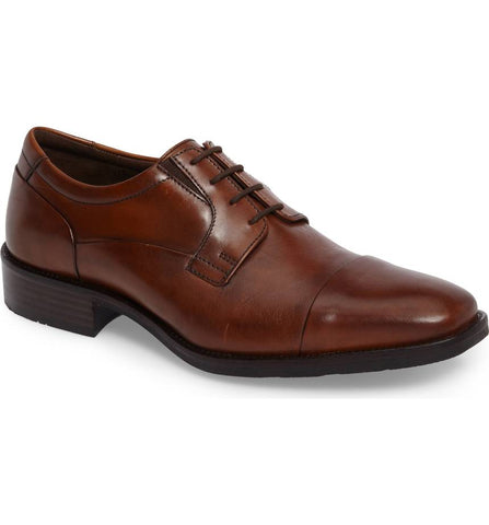 Johnston & Murphy, Lancaster Cap To Derby Shoes