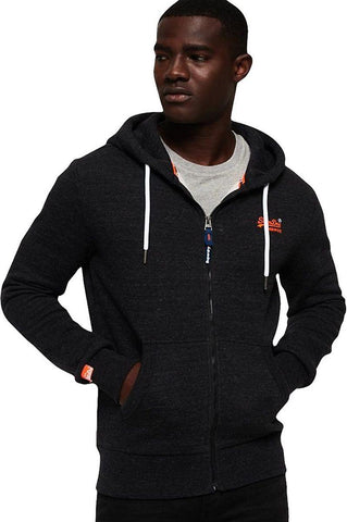 Superdry - Orange Label Classic Zip Front Hoodie