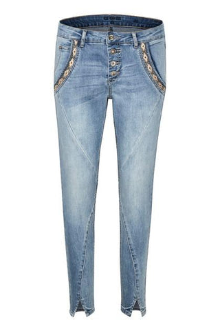 CREAM - Holly Baiily Fit 7/8 Jeans