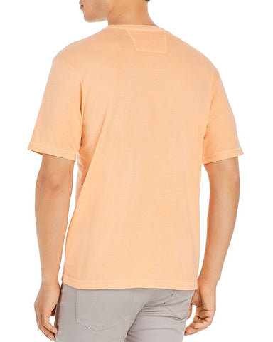 JOHNNIE-O, Dale Pocket Tee In Tang