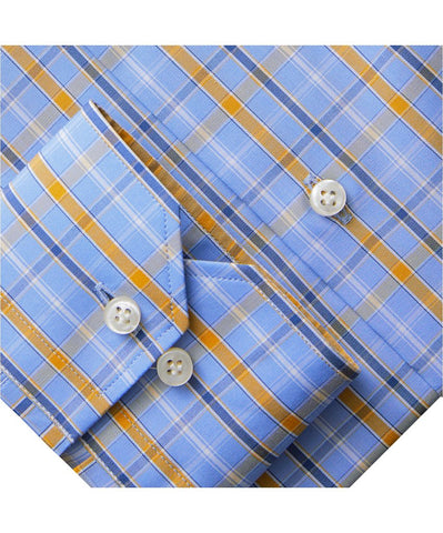 Fine Poplin Multi Plaid Luxury Sportshirt