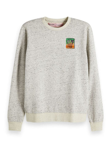 Scotch & Soda - Neps Felpa Crewneck Sweat
