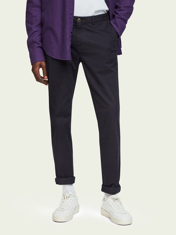Scotch and Soda - Stuart, Stretch Cotton Chinos Regular slim fit