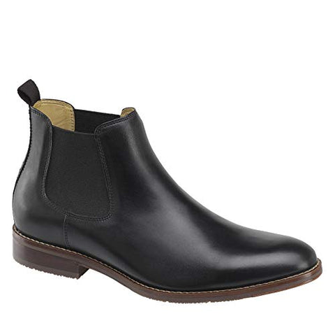 Johnston & Murphy Men's Garner Chelsea Boot Black Calfskin