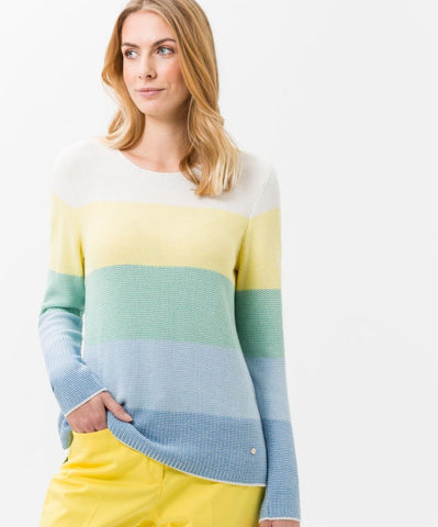 Liz Color Block Sweater