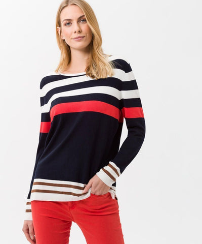 Lisa Modern Stripe Sweater