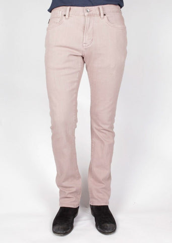 John Varvatos - Bowery Fit Jean with Zip Fly Casablanca Wash