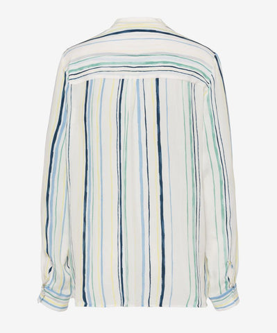 Val Striped Cupro Blouse