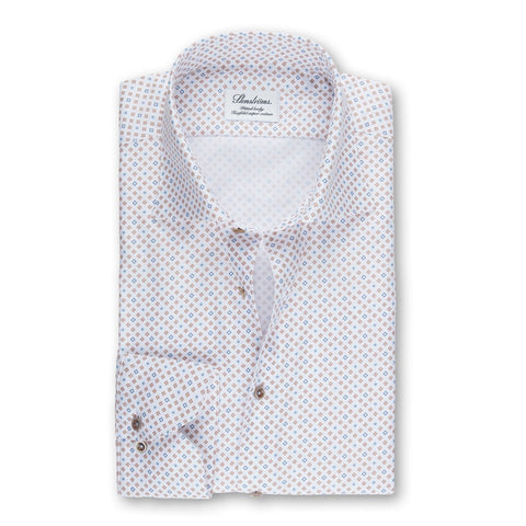 Stenstroms Mini Medallion Fitted Body Shirt