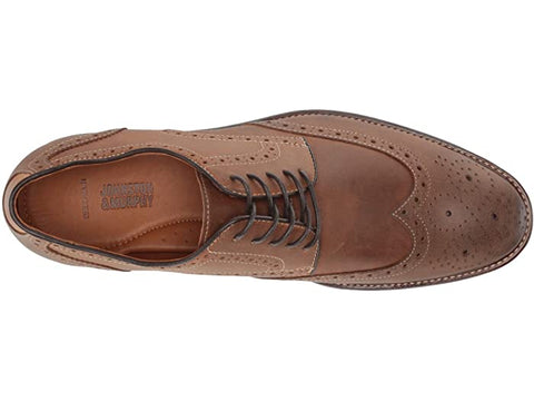 JOHNSTON & MURPHY TAN WARNER WINGTIP