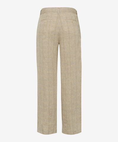 Maine S Linen Glen Check Culotte