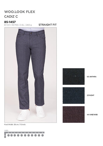 Brax Cadiz Pants Vineyard
