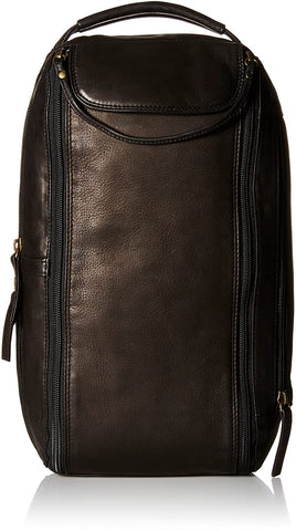 Derek Alexander -TWIN TOP ZIP SHOE BAG