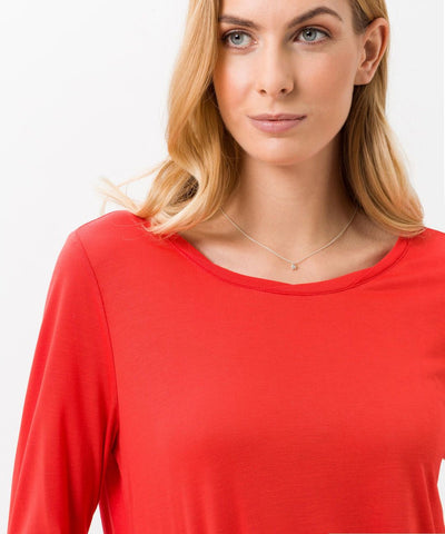 Caren Long Sleeve Crew Neck Shirt