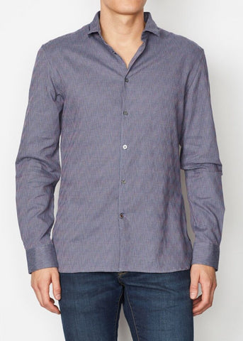 John Varvatos - Ashten Star Sport Small Wire Collar Shirt