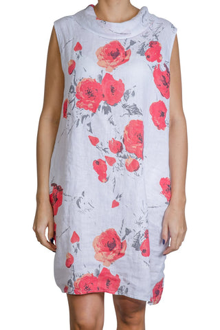 Pure by Eternelle - Flowered tunic dress