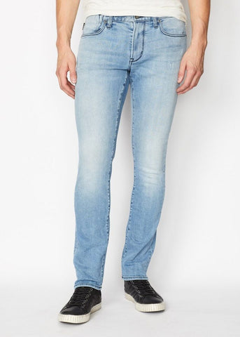 John Varvatos - Bowery Fit Jean with Zip Fly Boerum Wash