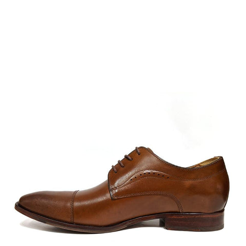 TAN MCCLAIN CAP TOE