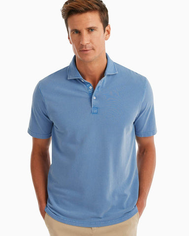 Johnnie-O, Surfside Garment Dyed Pique Polo