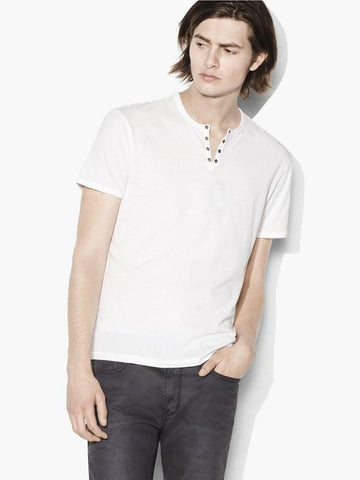 The Short Sleeve Military Eyelet Tee