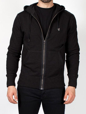 John Varvatos The Peace Sign Zip-Up Hoody