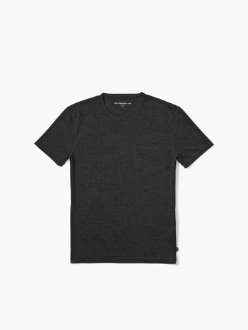 John Varvatos The Shot Sleeve Burnout Tee