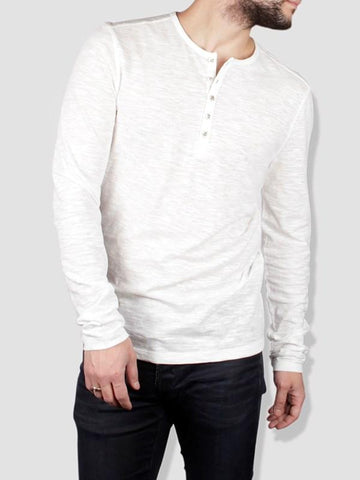 John Varvatos The Long Sleeve Knit Henley