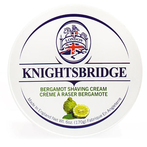KNIGHTSBRIDGE BERGAMOT SHAVING CREAM