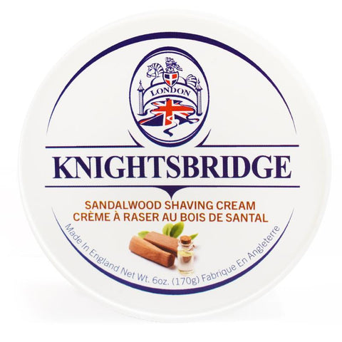 KNIGHTSBRIDGE SANDALWOOD SHAVING CREAM