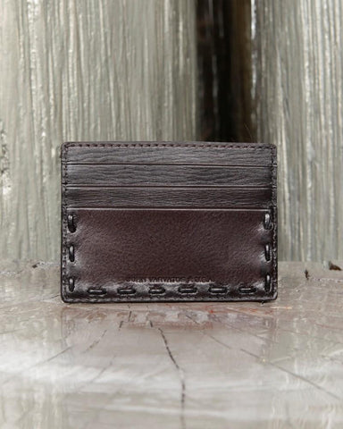 John Varvatos, Leather Pick Stitch Card Case