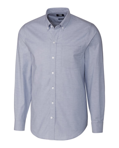 Cutter & Buck - Stretch Oxford Shirt, Light Blue