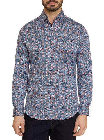 Robert Graham - Fellows Long Sleeve Sport Shirt