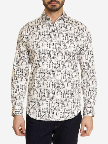 Robert Graham - Bones Sport Shirt