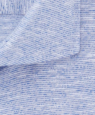 PROFUOMO / BLUE STRIPED KNITTED SHIRT