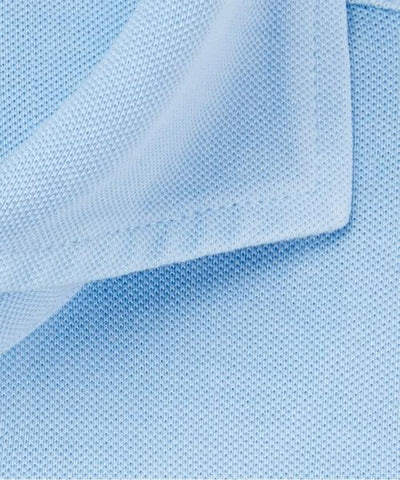 PROFUOMO / BLUE KNITTED SHORT SLEEVE SHIRT