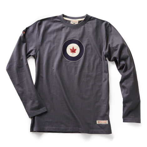 RED CANOE - RCAF LONG SLEEVE T-SHIRT