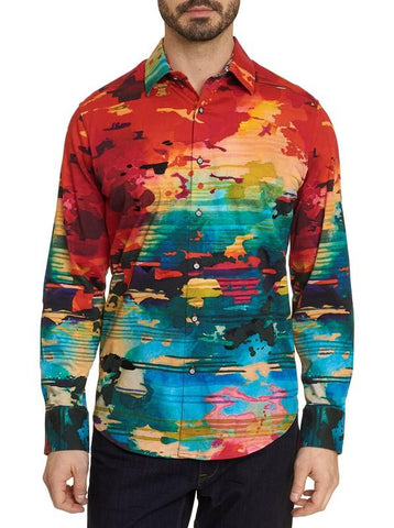 Robert Graham - Journey Man Embroidered Sport Shirt