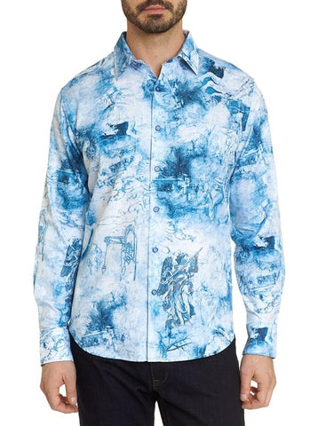 Robert Graham - To The Death Embroidered Sport Shirt