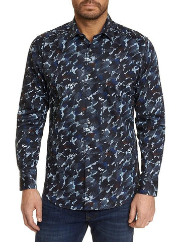 The Amerigo Sport Shirt - Navy